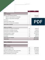 Analisis estados financieros.
