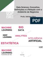 Slides Data Science Definicoes Relacao Negocios