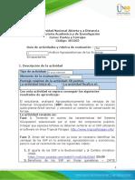 Guia de actividades y Rúbrica de evaluación Unidad 2  Paso  5 Análisis Agrozootécnicas de los Sistemas Silvopastoriles