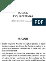 PSICOSIS-ESQUIZOFRENIA