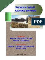EST. SUELOS de una provincia oruro bolivia