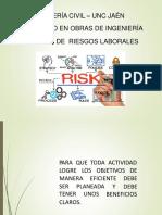 SEMANA 9 PRINCIPIOS BASICOS DE LA Gestion de Riesgo Laborales