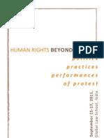 Protest Workshop at JGLS
