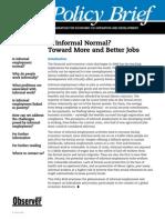 Is informal normal