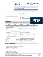 News Lessons Electric Car Intermediate Worksheet 466539