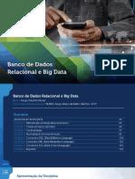 Banco de Dados Relacional e Big Data