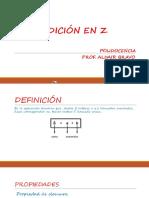 Adición en z - Polidocencia