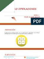 Cuatro Operaciones - Polidocencia