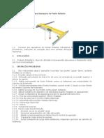 Manual de Instrucoes para Operacoes de Ponte Rolante