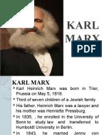 KARL Friedrich Marx