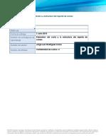 Reporte_elementos Del Costo y La Estructura Del Reporte de Costos