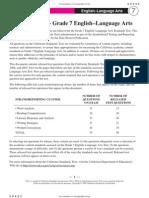 Grade 7 ELA RTQ - Standardized Testing and Reporting (CA Dept of Education)