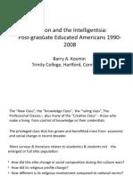 Religion and the Intelligentsia