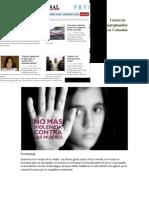Violencia intrafamiliar  en Colombia