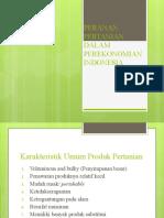 2 - PERANAN PERTANIAN DALAM PEREKONOMIAN INDONESIA