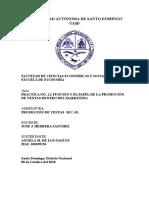 FUNCIÓN Y EL PAPEL DE LA PROMOCIÓN DE VENTAS DENTRO DEL MARKETING