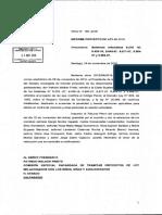 CORTE SUPREMA (2016). Oficio N° 165-2016. Informe proyecto de ley 48-2016, 24 de noviembre de 2016.