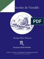 07 - Carta Circular de Vaisakh - Escorpio 2020