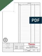 Trace MS Plus Manual Alignment Procedure