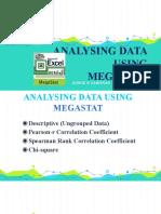 Analysing Data Using MEGASTAT