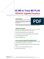 Trace MS to Trace MS Plus Upgrade Procedure