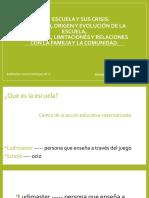 La escuela y sus crisis (8)
