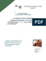 12. la classe come contesto di apprendimento e di sviluppo IMP x ADHD