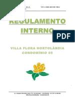 Regulamento Interno VFH5 - Versão Inicial