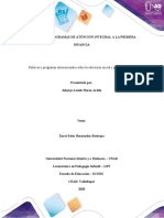 1065205369 trabajo Paso 2  Programa informativo sobre políticas y programas internacionales en primera infancia
