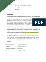 Informe PFB M