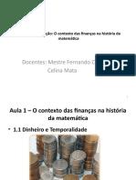 Aula - 1 Calculo Financeiro_2020