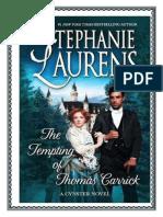 Familia Cynster 25 - La siguiente generación - La tentación de Thomas Carrick - Lucilla.pdf
