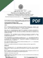 Resolucion Autoritativa para trabajar en el Cusco