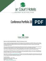 Conference Portfolio 2011