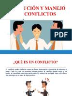CHARLA RESOLUCIÓN Y MANEJO DE CONFLICTOS