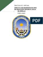 PRACTICA #2 - ARRANQUE DIRECTO CON INVERSION DE GIRO DE UN MOTOR TRIFASICO JAULA DE ARDILLA.docx