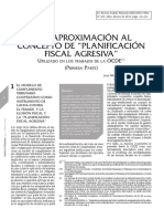Planificacion Fiscal Agresiva