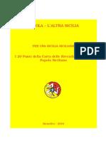 Carta delle Rivendicazioni del Popolo Siciliano