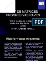 TEST DE MATRICES PROGRESIVAS RAVEN OK GYG