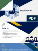 Azam Enterprises Profile Pdf