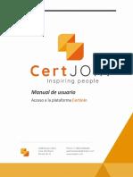 CertJoin User's Manual