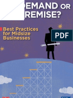 SAP Whitepaper - On-Demand or on-Premise Best Practices for Midsize Businesses