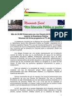 Nota de prensa_entregafirmas_ILPeducacion_100211