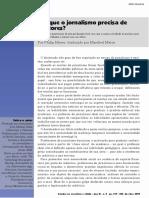 PORQUE O JORNALISMO PRECISA DE DOUTORES