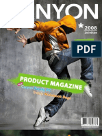 Canyon Product Magazine New Edition Fall 2008