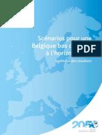 Scénarios pour une Belgique bas carbone à l'horizon 2050 (2013)