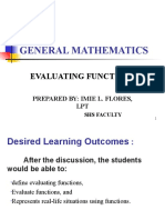 EVALUATING FUNCTIONS.ppt