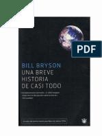 Bryson, Bill - Una breve historia de casi todo [R1]