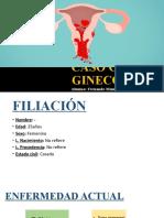 Caso Clinico-Embarazo Ectopico