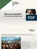 Clase 3. Barroco Español (caracteristicas generales).pdf